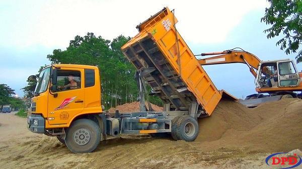 Giá cát san lấp rẻ với chỉ 150.000đ/m3 tại Dũng Phát Đạt