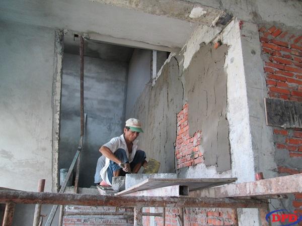 Cát xây tô được dùng để trát trong các công trình hiện nay