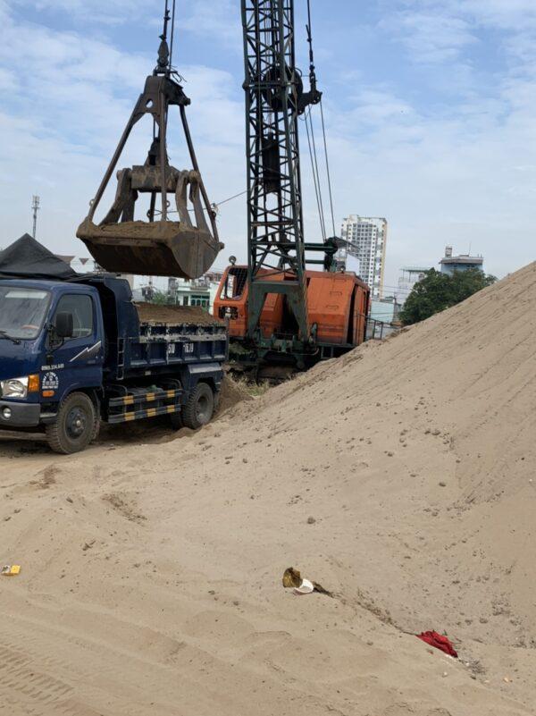 Hình ảnh cát xây tô