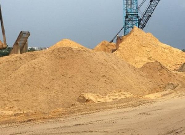 Hình ảnh cát bê tông