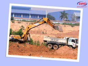 Cát san lấp có rất nhiều công dụng trong quá trình thi công xây dựng